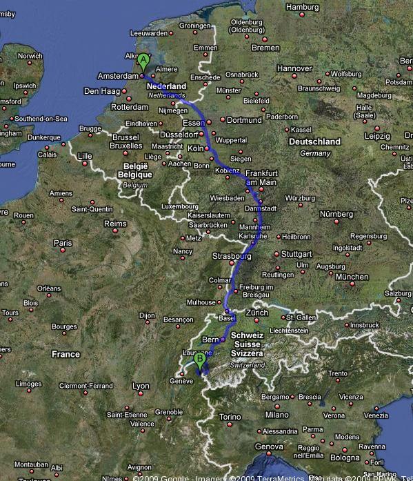 Route de Alpes